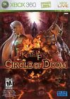 XBOX 360 Kingdom Under Fire: Circle of Doom Video Game action rpg DISC ONLY