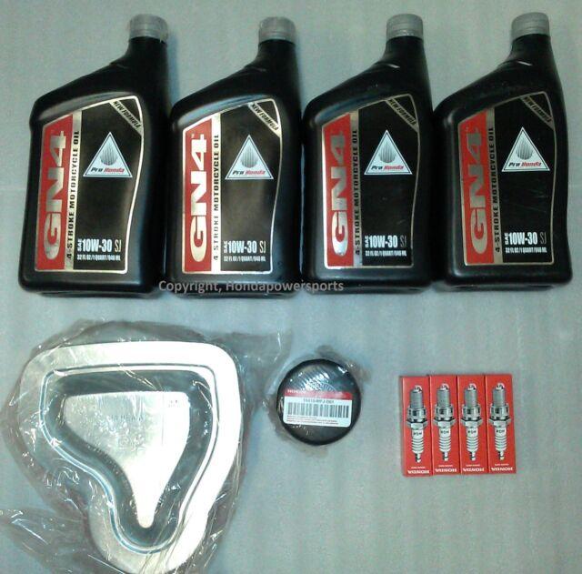 2004 2005 2006 2007 2008 2009 Honda VTX1300 Complete Oil Change Service Tune-Up