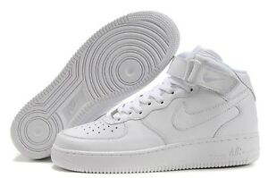 more photos 666ce c9ece Image is loading Nike-Air-Force-1-Mid-Men-Leather-Basketball-