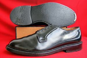 Allen-Edmonds-Chevaux-Cuir-Shell-Cordovan-US-Taille-10-E-Leeds-Top-Business-Chaussures