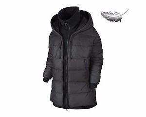 15-New-Womens-Nike-Uptown-550-Down-Cocoon-Jacket-S-XL-Full-Zip-Black-683928-010