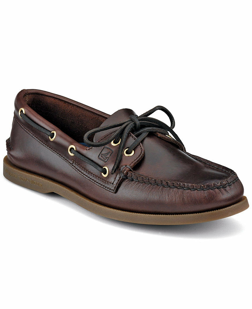 NIB Sperry Top-Sider A/O Authentic Original 2 Eye Men's Leather Boat Shoe7-13 M
