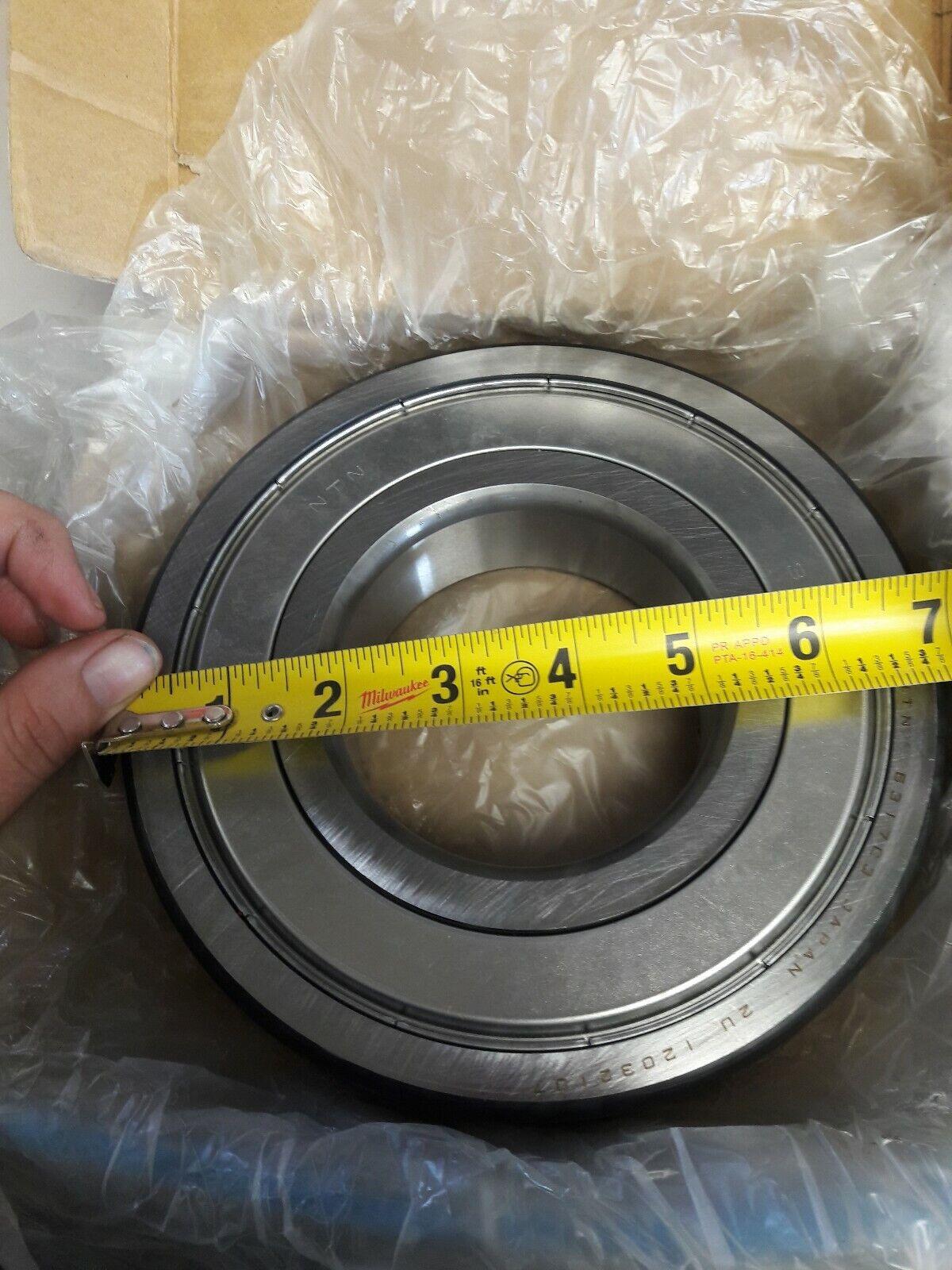 NTN 6317ZZC3 EM 6317ZZC3 L627 Double Shielded Single Row Radial Ball Bearing