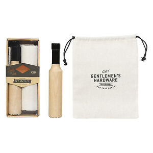Gentlemen-039-s-Hardware-Wooden-Ice-Mallet-with-Ice-Bag-in-Gift-Box