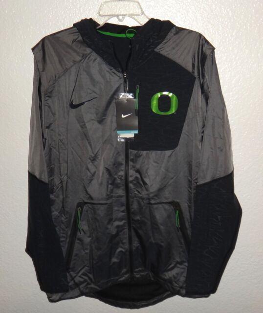 1c4a9d353097 NWT MENS M NIKE OREGON DUCKS FOOTBALL TEAM VELO FLY RUSH JACKET  160  VELOCITY