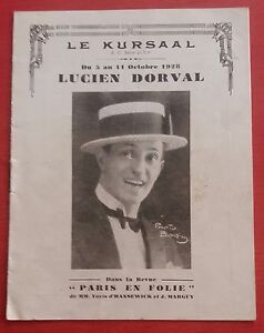 Program-the-Kursaal-Lucien-Dorval-Paris-Madness-Hansewick-and-Maguy-1928