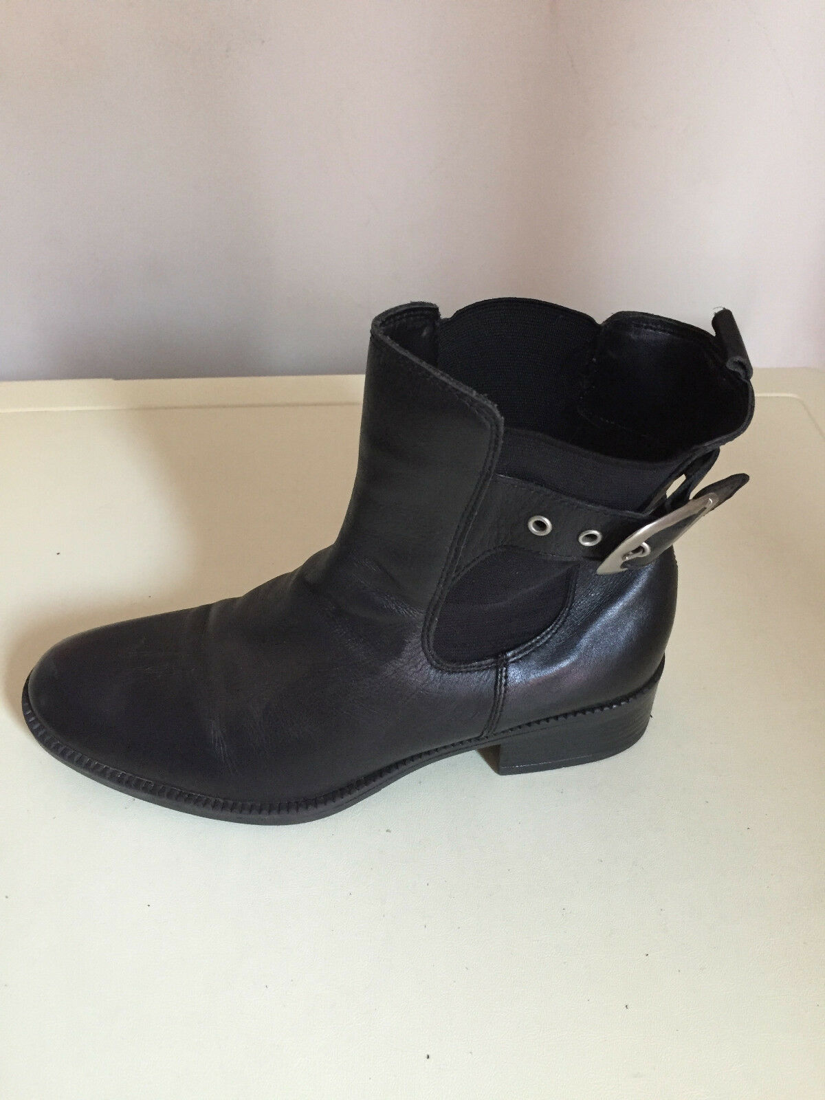 femmes LILLEY AND SKINNER ANKLE LEATHER bottes Taille 5