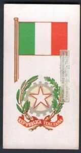 Flag-And-Standard-Banner-For-Italy-c50-Y-O-Trade-Ad-Card