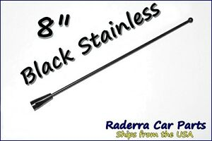 "21/"" Black Stainless AM FM Antenna Mast FITS 2004-2012 Chevrolet Colorado"