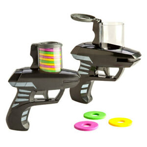 Aero-Disc-Shooters-Shoot-Foam-Discs-Up-To-10-Meters-Set-of-2-Perfect-Gift
