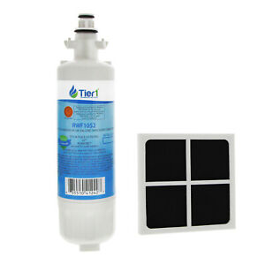 Fits-LG-LT700P-amp-LT120F-Comparable-Refrigerator-Water-amp-Air-Filter-Comb