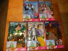 Mattel * Zauberer von Oz * Wizard of Oz * 5 FIGUREN IM SET OV Barbie as Dorothy