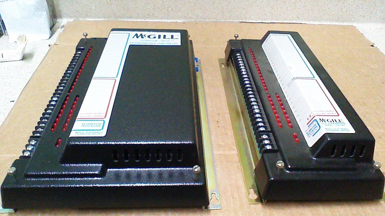 McGILL QUANTUM 2000 PROGRAMMABLE CONTROLLER AND I O EXPANDER SECTION