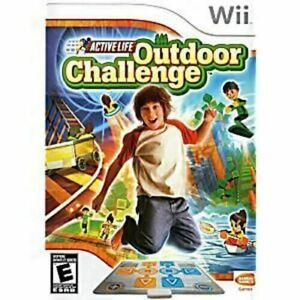 Active Life Outdoor Challenge - Nintendo Wii game Authentic