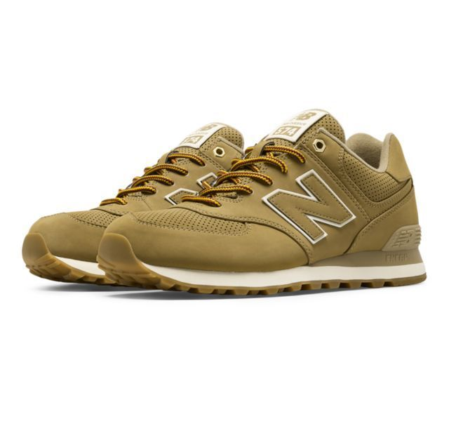 New  Mens New Balance 574 Outdoor Sneakers shoes - Linseed