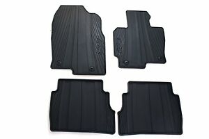 Details About Genuine Oem 2017 2020 Mazda Cx 5 All Weather Floor Mats Set