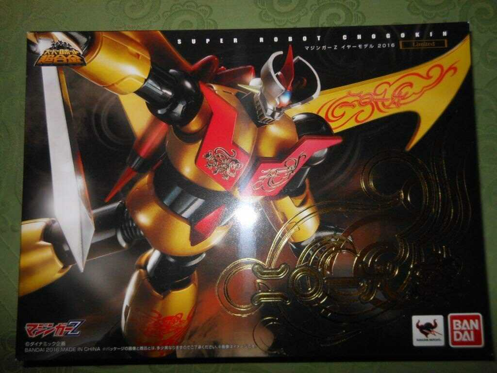 SRC MAZINGER Z YEAR 2016 LIMITED NUOVO