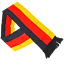 Indexbild 40 - Deutschland Fanartikel 2020 Fußball EM WM Germany Flagge Party Fan Fahne Hut Car