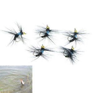 5pcs-10-fly-nymph-pheasant-herl-winged-may-fly-trout-perch-fly-fishing-flies-R