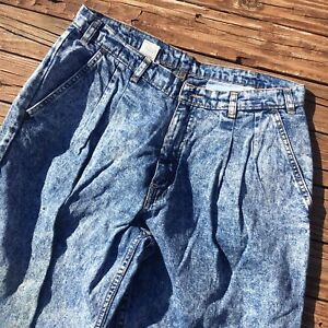 Tab Jeans 34 Levi's davanti 32 pieghettati lavato acido Vintage Silver X Ew7TxHqZHA