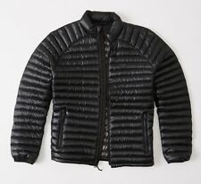 Abercrombie and Fitch Lightweight Down Black Puffer Jacket £98 - Large