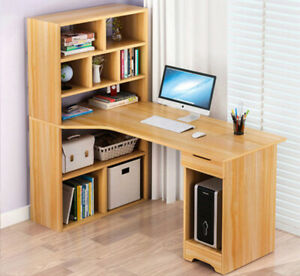 Miraculous Computer Desk With Bookshelf 8 Cube Cupboard Drawer Storage Beutiful Home Inspiration Truamahrainfo