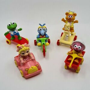 FULL-SET-VINTAGE-McDONALD-S-MUPPET-BABIES-HAPPY-MEAL-TOYS-1986