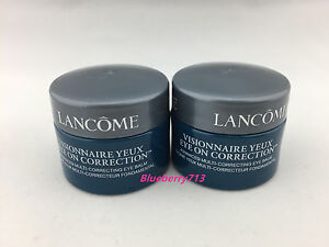 Lot-of-2-Lancome-Visionnaire-Multi-correcting-Eye-Balm-Cream-6g-2-12g-0-4-oz