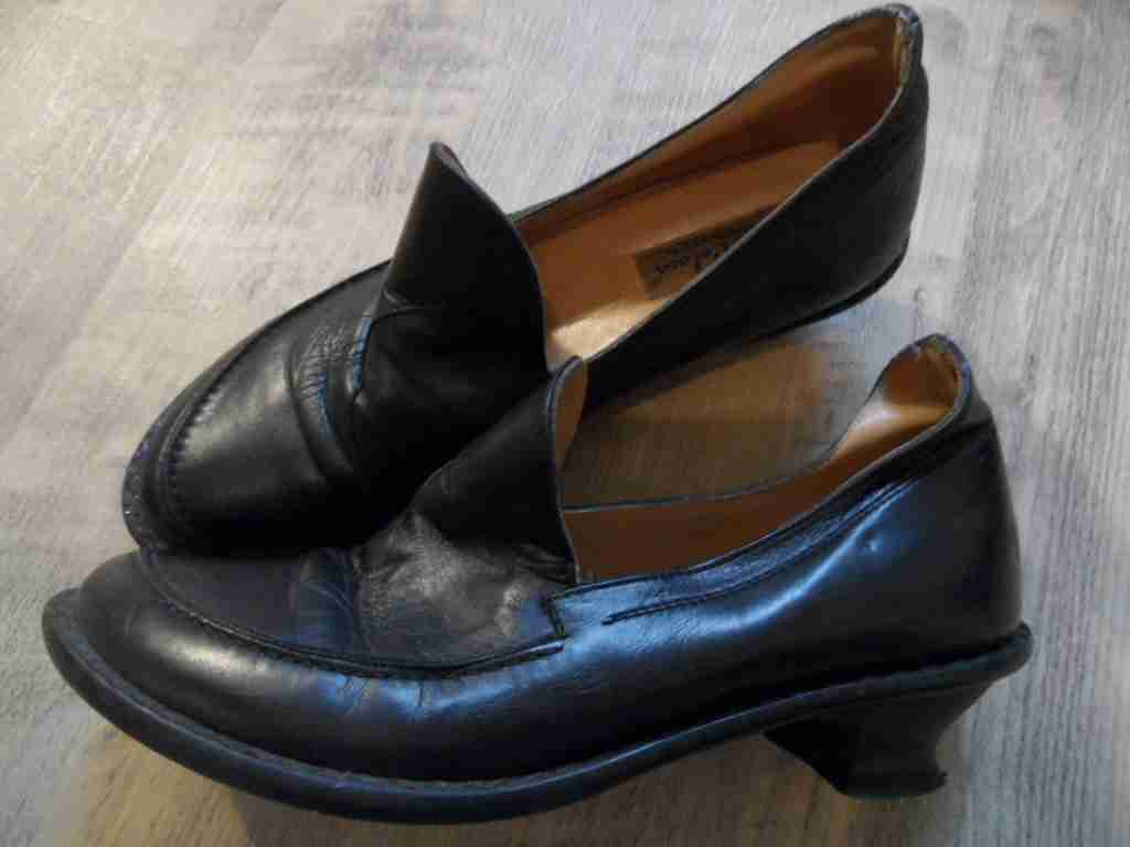 SHOE COLOUR Made in Italy Eleganti Mocassini M. paragrafo NERO MIS. 39 Top kd117