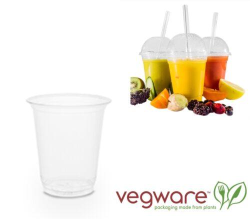 120 x vegware compostables 1 Pt Cold Cup marquage CE FAIT DE Plant Based pla