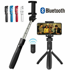 61b398c5da431e Image is loading Universal-Selfie-Tripod-Phone-Holder-Stick-Monopod-W-