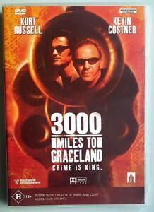 3000-Miles-To-Graceland-Kurt-Russell-amp-Kevin-Costner-DVD-LIKE-NEW-Region-4