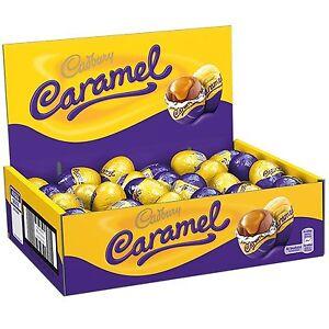 Cadbury caramel egg milk chocolate full box 48 eggs gift party image is loading cadbury caramel egg milk chocolate full box 48 negle Image collections