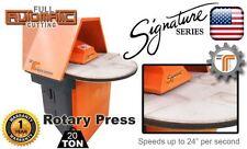 New 20 Ton Rotary Clicker Press Die Cutting Press From Cjrtec