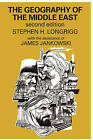 The Geography of the Middle East by Stephen N. Longrigg (Paperback, 2009)