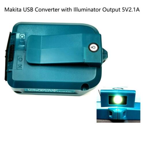 USB Power Charger Adapter Converter For MAKITA ADP05 14-18V Li-ion Battery BC710