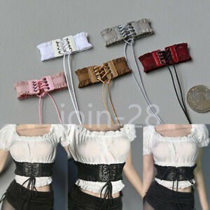 1-6-Female-Drawstring-Girdle-Waistband-Belt-Fit-12in-Phicen-TBLeague-Figure-Body