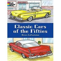 Coloring Books Classic Cars Of 50th Dealing With Stress Anxiety Auto Lover Gifts