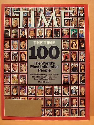 TIME MAGAZINE MAY 11 2009 100 THE WORLD'S MOST INFLUENTIAL PEOPLE DOUBLE ISSUE