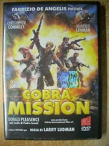 Cobra Mission (1986) DVD AVOFILM FUORI CATALOGO OTTIMO RARO - Italia - Cobra Mission (1986) DVD AVOFILM FUORI CATALOGO OTTIMO RARO - Italia