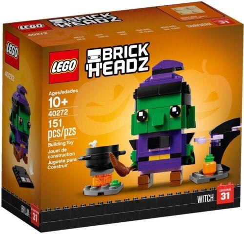 Lego 40272 Brickheadz Witch Seasonal Item for Halloween Brand New /& Sealed