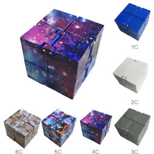New-Infinity-Magic-Cube-Fidget-Finger-Anxiety-Stress-Relief-Block-Kids-Toy-Gift