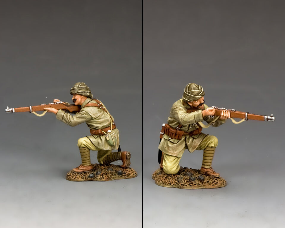 KING AND COUNTRY Turkish Soldier Kneeling Reloading AL84 AL084