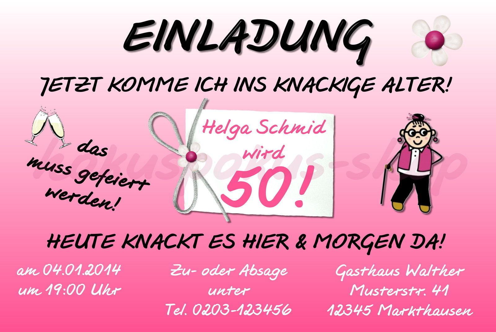 30 lustige Einladungskarten Frauen Geburtstag Einladungen jedes Alter 40 50 60   | Angenehmes Aussehen  | Spielzeugwelt, glücklich und grenzenlos