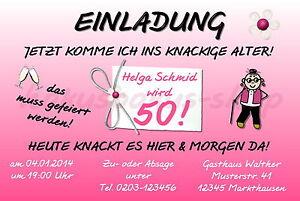 20 Lustige Einladungskarten Frauen Geburtstag Einladungen Jedes