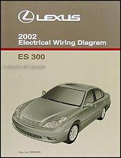 1998 Lexus Es 300 Wiring Diagram Manual 98 Es300 Electrical Schematics Original Ebay