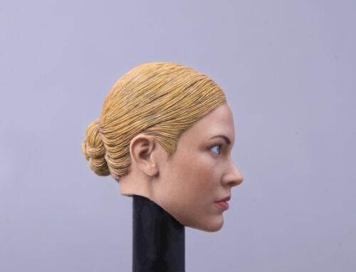 1//6 Kristanna Loken Head Sculpt Terminator 3 T-X For Hot Toys Phicen Figure USA
