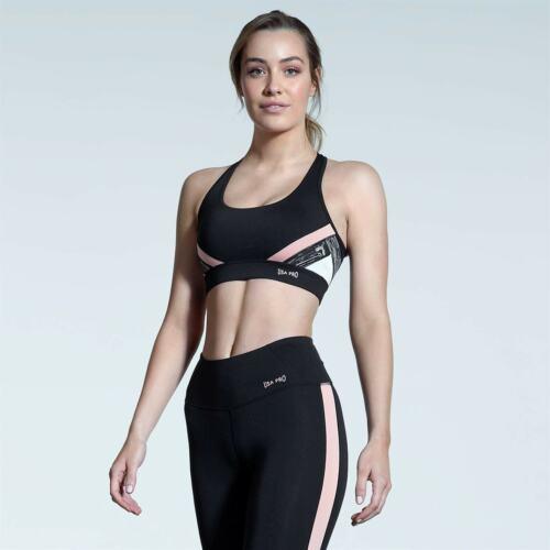USA Pro incrociato sul retro Reggiseno sportivo da donna