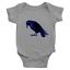 Infant-Baby-Rib-Bodysuit-Jumpsuit-Romper-Clothes-Beautiful-Black-Crow-Raven-Bird thumbnail 3