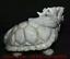 """miniature 7 - 9,6 """"Dushan Jade Sculpture Feng Shui Dragon Tortue Tortue Statue De Richesse"""